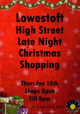 High Street Late Night Shopping 10.12.2020