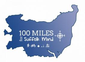 100 miles for Suffolk Mind